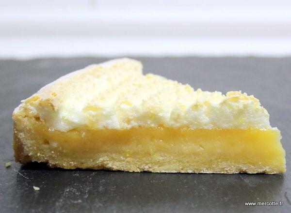 » Tarte au citron meringuée traditionnelle de Thierry Mulhaupt - La cuisine de Mercotte :: Macarons, Verrines, … et chocolat