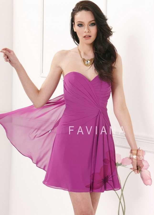 Mejores 21 imágenes de Faviana Dress en Pinterest | Vestidos cortos ...