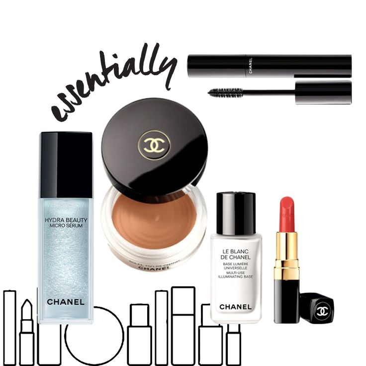 Essentially CHANEL  These are five products that the Chanel experts around the world can't live without - http://bit.ly/1BgeoEC