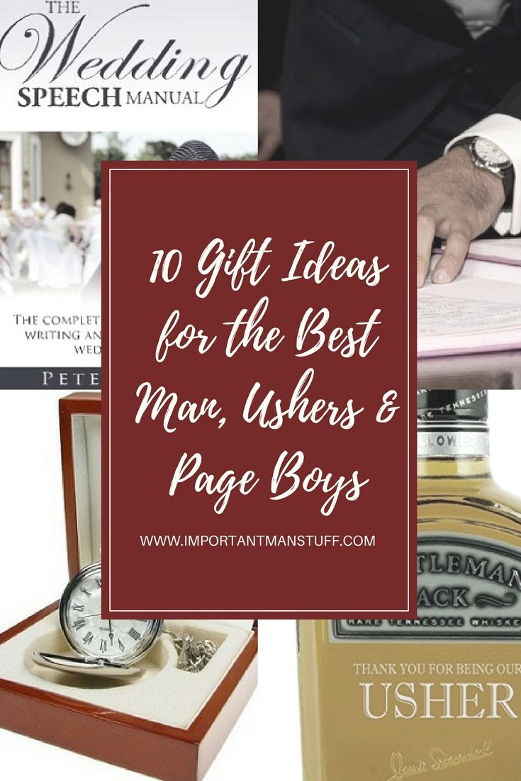 Stuck for a gift for the best man? Check out this guide for some thoughtful and unusual gifts for your wedding party.