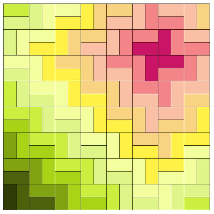 Easy rectangle quilt patterns -- pinwheels, herringbone, bricks, spirals, tri-color blocks. Simple rectangle patterns for quilting with same size blocks arranged into unique and interesting designs.