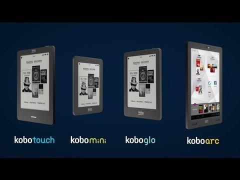 Introducing an eReader for Everyone. Meet the new family of Kobo eReaders. Kobo Touch, Kobo Mini, Kobo Glo and Kobo Arc. #kobo #ereaders #ebooks