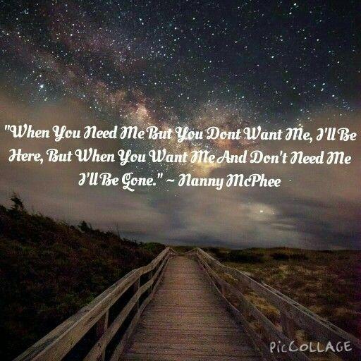 Nanny McPhee quote