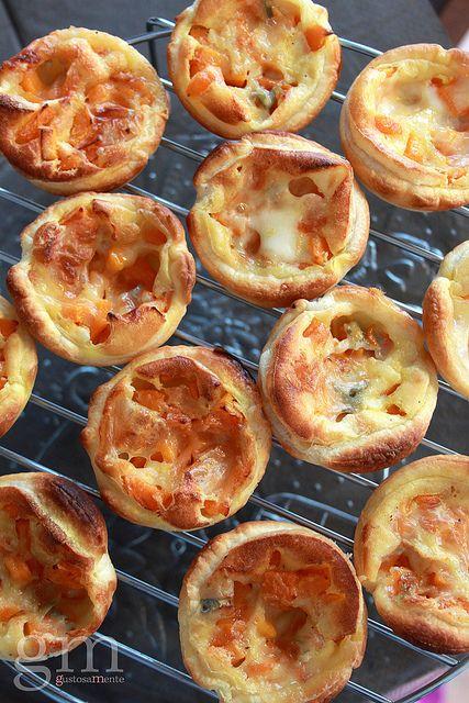Tartellette zucca e gorgonzola | Flickr | http://gustosamente.blogspot.it/2014/02/tartellette-zucca-e-gorgonzola.html