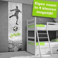 Voetbal muurstickers voetbalkamer