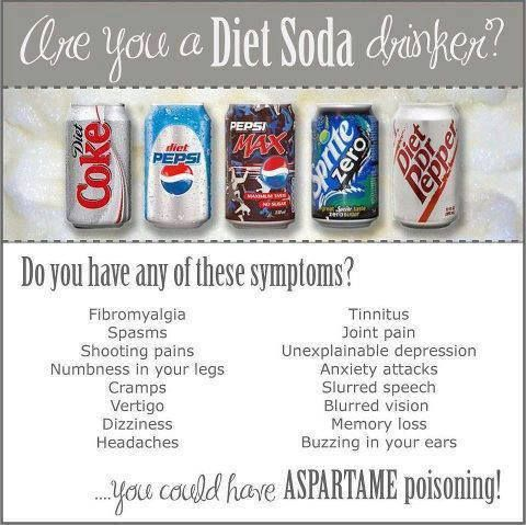 Have you ever experienced any side effects from consuming aspartame? Your not alone...  Check out the list: http://www.healthy-holistic-living.com/aspartame-side-effects.html