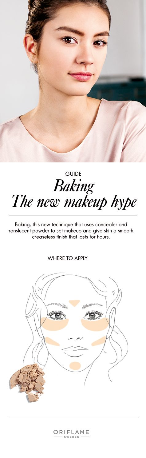 Want to master baking? Find out where to apply your concealer and translucent powder in this guide.