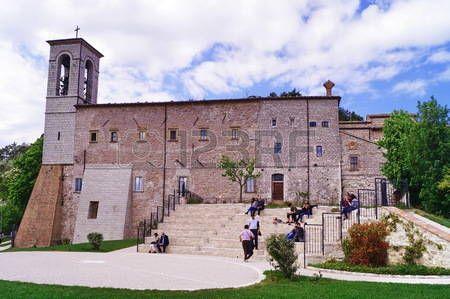 Saint Ubaldo basilica, Gubbio, Umbria, Italy
