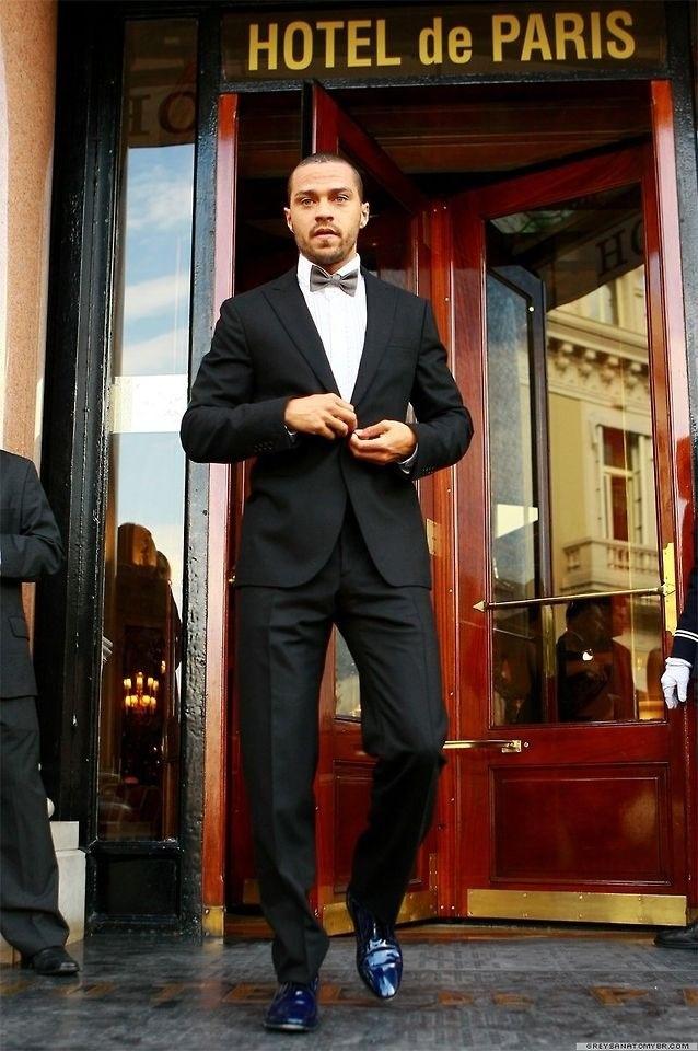 Jesse Williams, dapper in Paris