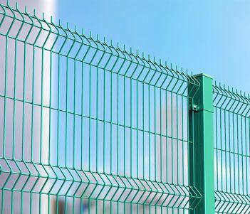 Ограждения в Томске – купить сетчатые металлические заборы по выгодной цене, заказать – «Шефмонтаж» Томск
