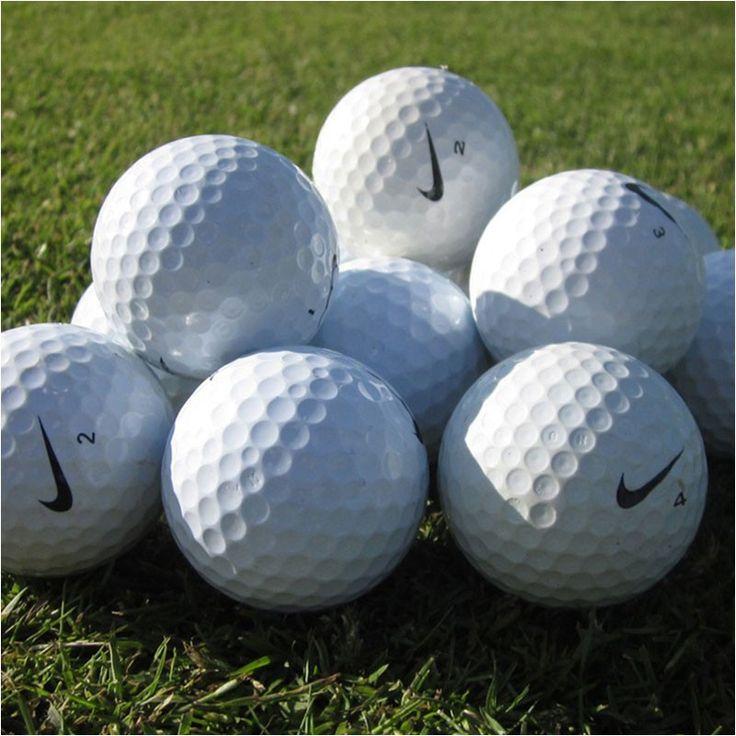 Nike Golfbolde, Pæne og rengjorte Nike Søbolde & Lake Balls sælges !  #jyskegolfbolde #nike #søbolde #golfbolde