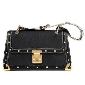 Louis Vuitton Taupe Epi-leather honfleur Pouivre Clutch/shoulder Bag - 2001 HxHK44