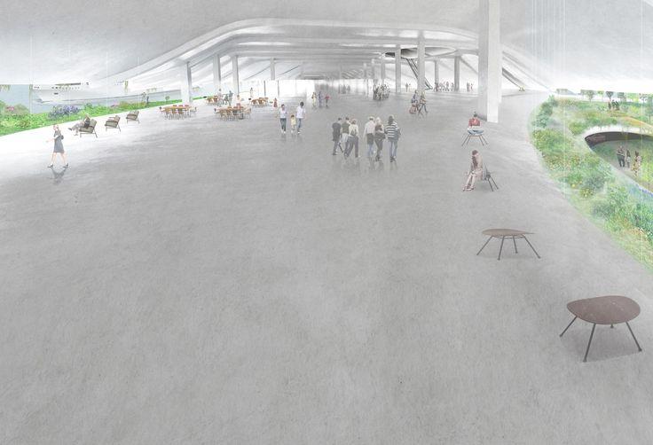 石上純也のチームによる台湾の金門港フェリーターミナル設計コンペの勝利案 | architecturephoto.net | ひと月の訪問者数総計32万・ページビュー132万の建築・デザイン・アートの新しいメディア。アーキテクチャーフォト・ネット