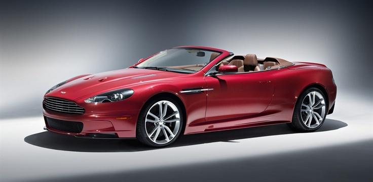 Oh My ... Sigh.   Aston Martin DBS Volante. Handmade. Heavenly. Hefty price tag - at least 2.4 million bucks.