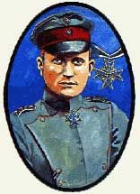 THE RED BARON portrait
