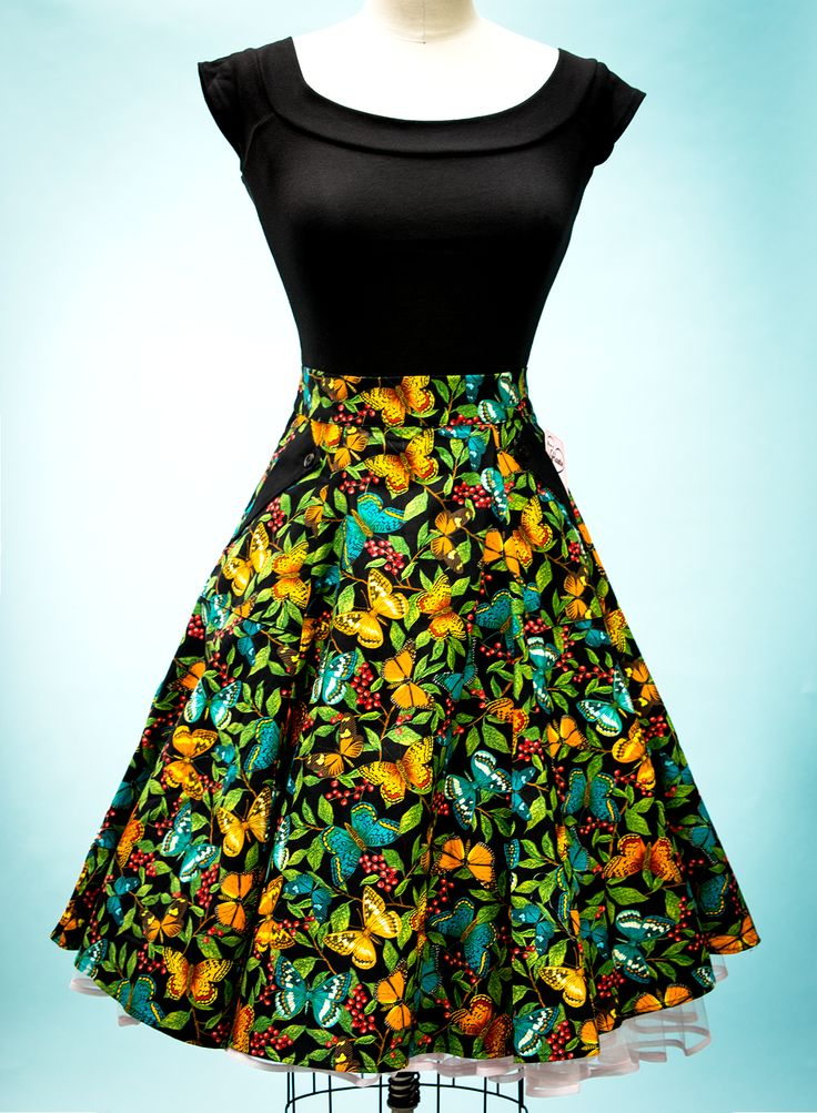 Twirl Skirt - Butterfly Forest