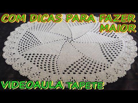 TAPETE LUCÉLIA (P/ SALA) # LUIZA DE LUGH - YouTube