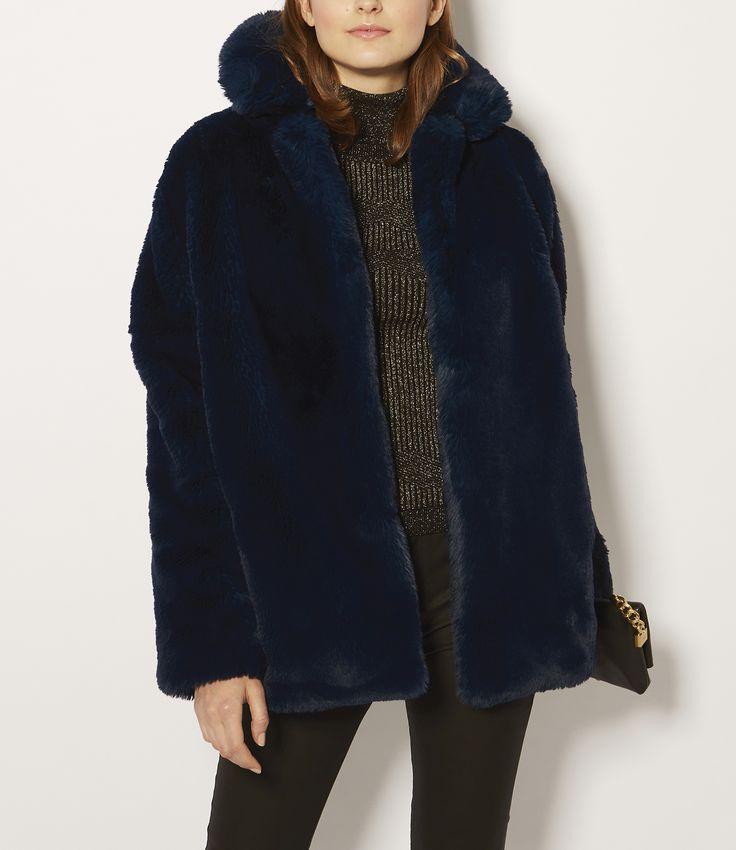 Karen Miller faux fur
