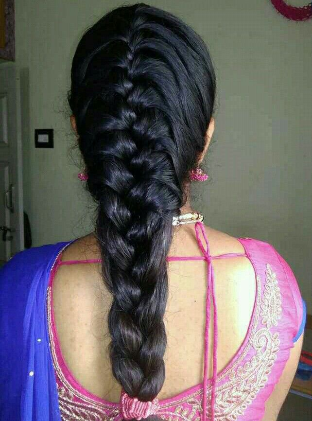 29++ French plait hairstyles for indian weddings inspirations