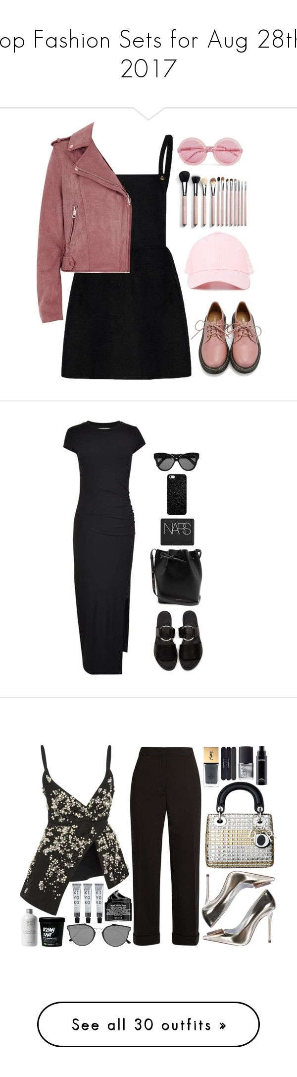 """""""Top Fashion Sets for Aug 28th, 2017"""" by polyvore ❤ liked on Polyvore featuring River Island, Wildfox, F.A.M.T., Retrò, Gestuz, Warehouse, Mansur Gavriel, NARS Cosmetics, Linda Farrow and Bibhu Mohapatra"""