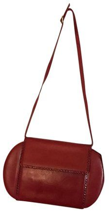 e2a7e3ce9f Salvatore Ferragamo Mint Vintage Dressy Or Casual Two-way Style Hard And  Boxy Clutch Shoulder Satchel in red leather