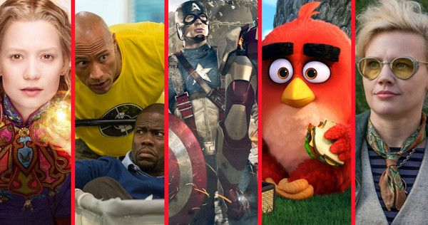 Summer 2016 is going to bring an epic Marvel movie, new Ghostbusters, a very friendly giant, some angry birds and some of DC's biggest villains.  cherryocean.com