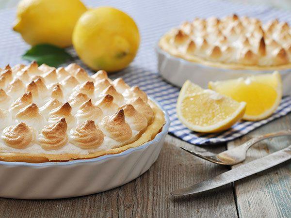 Citronpaj med italiensk maräng | Recept.nu