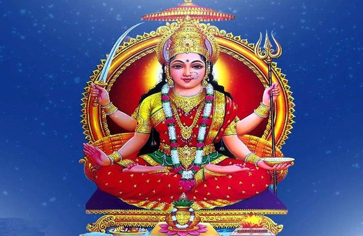 This soothing Ya Devi Sarva Bhuteshu - Santoshi Maa mantra is a prayer to Goddess Santoshi, a unique incarnation of the Mother Goddess.