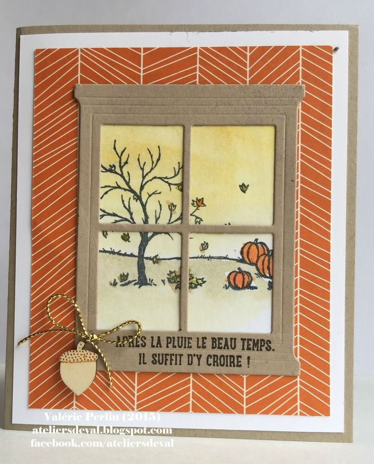 SU - Fall, Halloween - Happy Scenes stamp set - Hearth & Home Thinlits