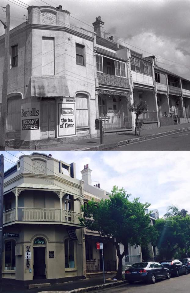 Corner Store 1970s > Corner Gallery 2016, Glebe. [City of Sydney Archive > Curt Flood. By Curt Flood]