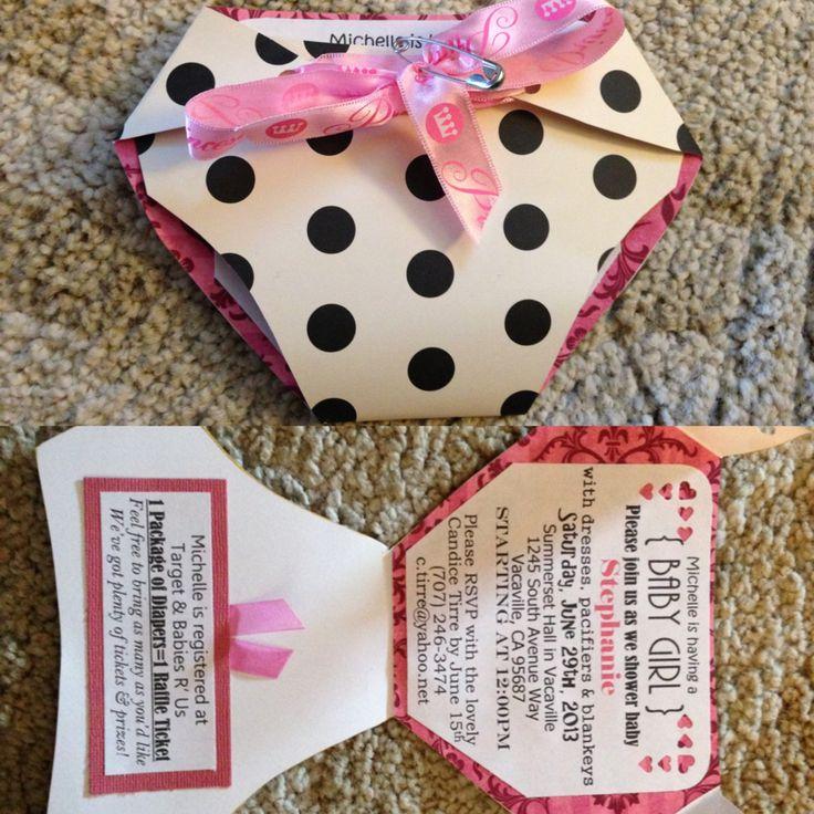 diy baby shower invitation ideas budget babyshower jenessas baby