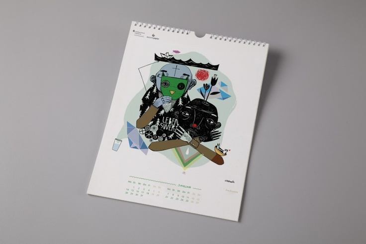 Wasser wirkt: Ein Kalender für Unicef » DesignBote