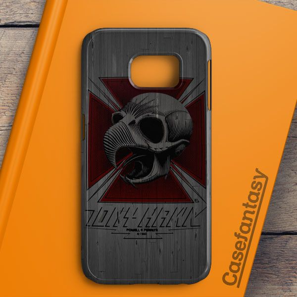 Tony Hawk Skateboard Skull Garden Logo Samsung Galaxy S6 Edge Case | casefantasy
