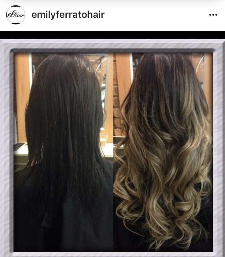 FULL HEAD OF HUMAN 100% AA+ HAIR EXTENSIONS ONLY $350   emilyferratohair@gmail.com