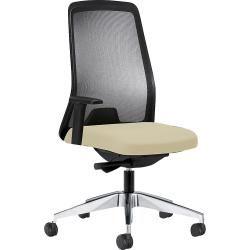Clp Bürostuhl Clever, ergonomischer Schreibtischstuhl mit Netzbezug und stabilem Kunststoff-Drehkreu