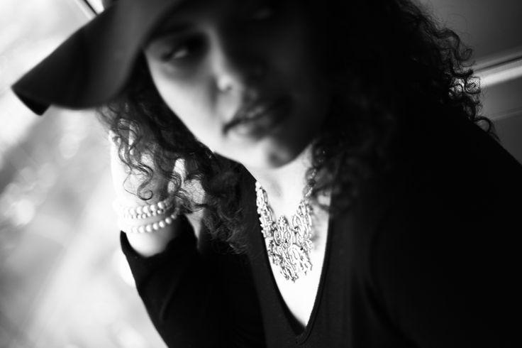 #classy #elegant #photography #blackandwhite #hat #pearl