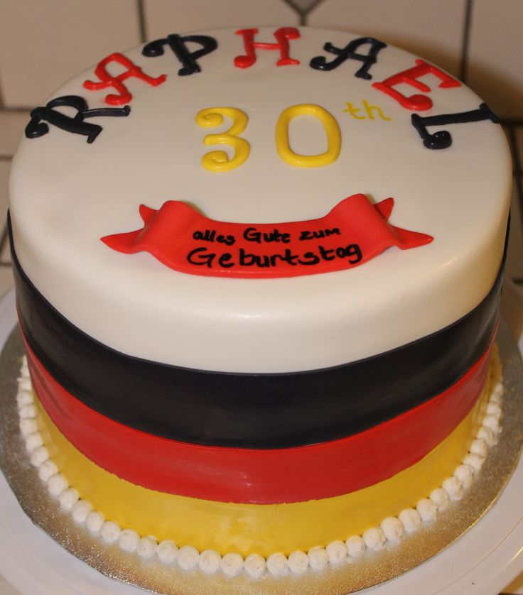 Gluten Free Cake Decorating Icing : German Flag Cake I made for my Brother-In-Laws 30th ...