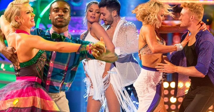 This year's celebrities took to the dance floor for the first time in tonight's opening show