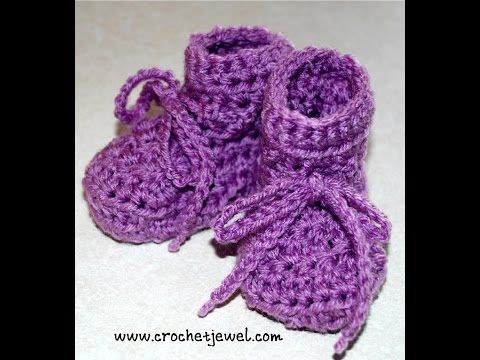 How to Make a Baby Bootie-Size 6-12 Months Videos |