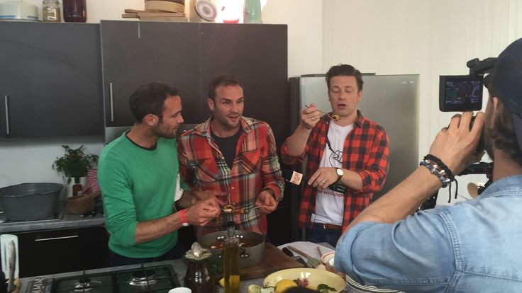 Great fun cooking with Jamie Oliver for food revolution day - what a wonderful day to be a part of!