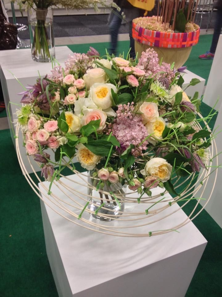 Artist   Tomas De Bruyne at Nordic Flower Expo 2015