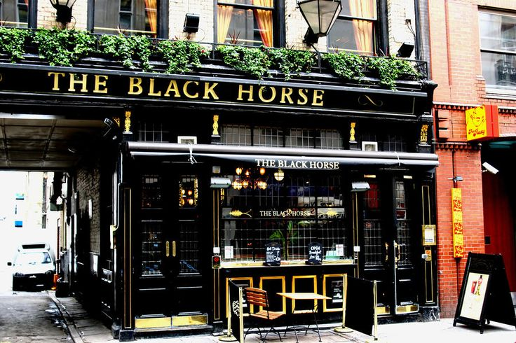 The Black Horse | British Pubs | Pinterest | Places ...