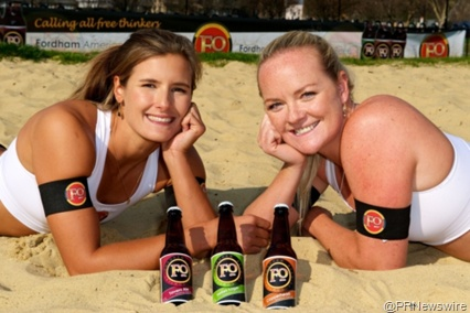 UK Olympic Women's Beach Volleyball Team Sponsored by Fordham Brewery
