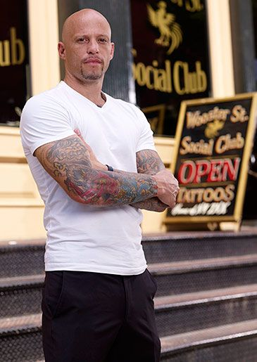 Ami James. NY Ink