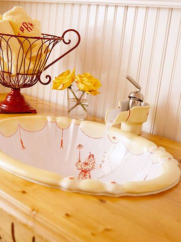 11 Best Hand Painted Sinks Images On Pinterest Hand Painted Bathroom Sinks And Bath Design