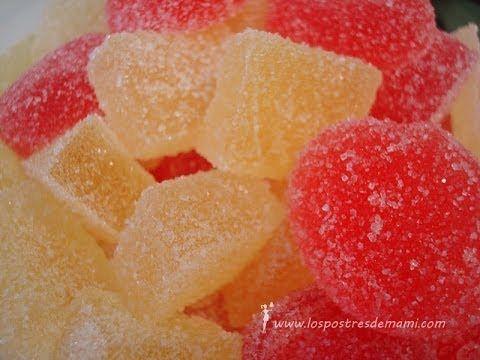 Si quieres saber más detalles de mi receta, consulta en: http://www.lospostresdemami.com/gominolas-caseras/ ¿A tus hijos les gustan las gominolas? ¿Pero a ti...
