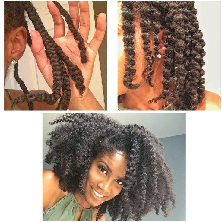 Natural hair , Braid Out on wet hair   Natural Hair ...