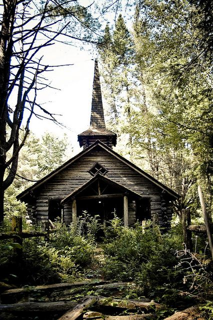 chapel deep in the Adirondack Mountains, Upstate NY.