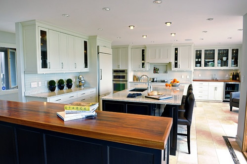 Braemar Road Kitchen - contemporary - kitchen - calgary - Shelter Renovation + Contracting Inc.
