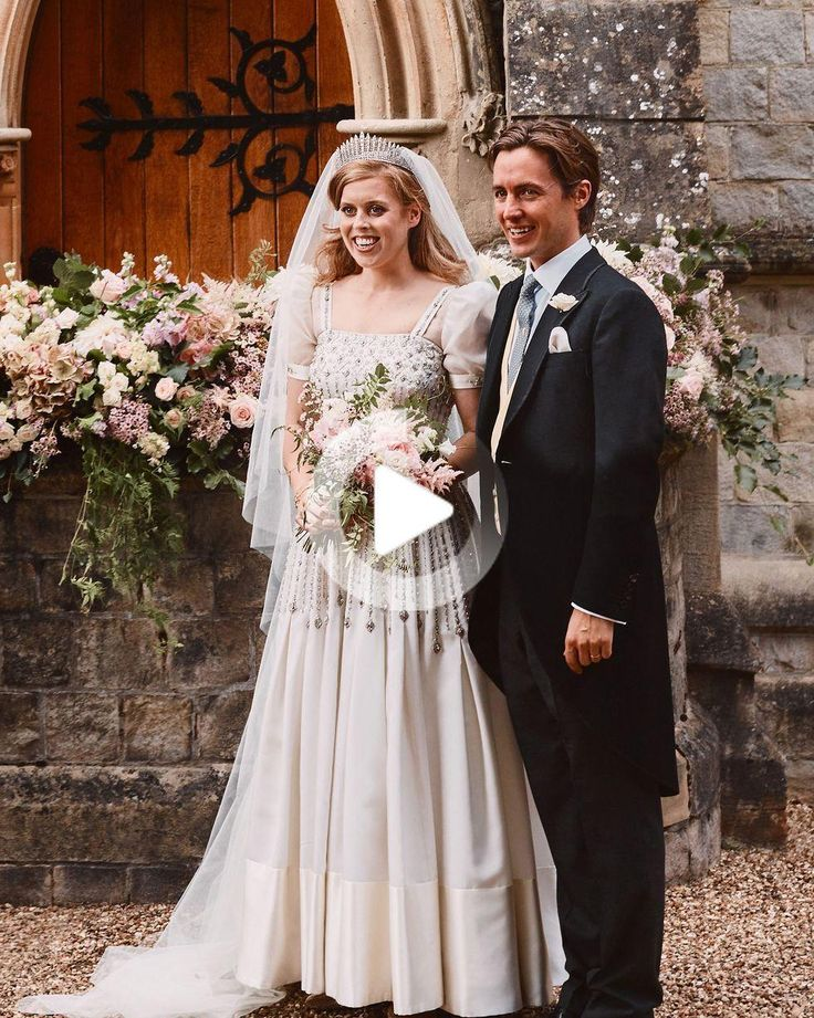 Princess Beatrice's Wedding Dress Was a Stunning Vintage